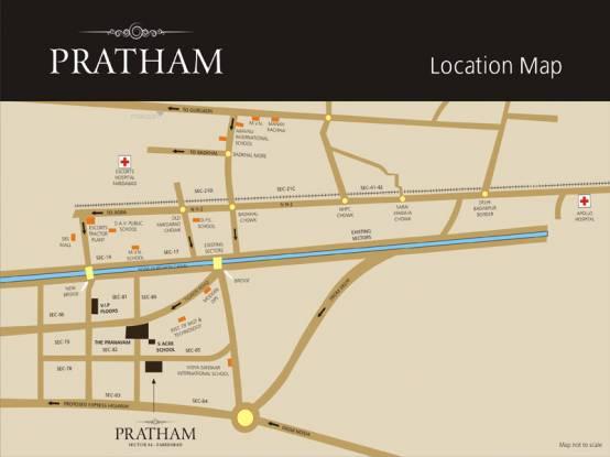 1100 sqft, 2 bhk Apartment in Puri Pratham Sector 84, Faridabad at Rs. 41.0000 Lacs