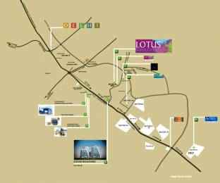 1702 sqft, 3 bhk Apartment in 3C Lotus Boulevard Sector 100, Noida at Rs. 92.0000 Lacs
