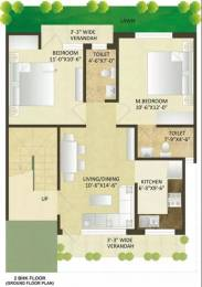 853 sqft, 2 bhk Apartment in Sare Springview Floors Lal Kuan, Ghaziabad at Rs. 7000