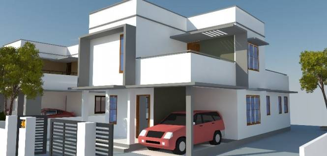2000 sqft, 3 bhk Villa in Builder Project Puliyarakonam, Trivandrum at Rs. 38.0000 Lacs