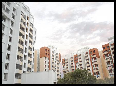 873 sqft, 2 bhk Apartment in Builder Project Dhayari, Pune at Rs. 47.2500 Lacs