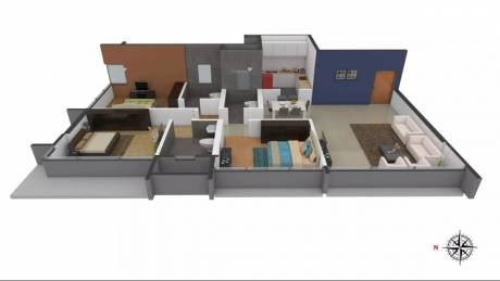 1626 sqft, 3 bhk Apartment in Ahuja Lamor Jogeshwari West, Mumbai at Rs. 2.7900 Cr