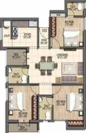 1149 sqft, 3 bhk Apartment in Stone Rainbow Paradise Velachery, Chennai at Rs. 82.8040 Lacs