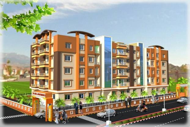 1021 sqft, 3 bhk Apartment in Builder Global Apartment Phase II Chipura Jaganpura Road, Patna at Rs. 22.3000 Lacs