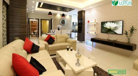 750 sqft, 1 bhk Apartment in Builder Green lotus avenue Main Zirakpur Road, Chandigarh at Rs. 34.0000 Lacs