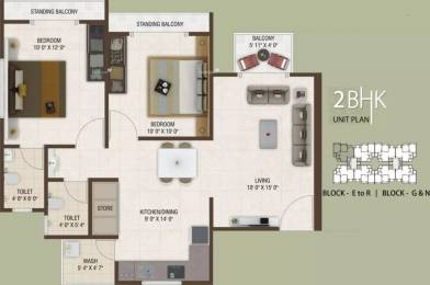 1215 sqft, 2 bhk Apartment in Rajhans Platinum Residency Palanpur, Surat at Rs. 32.0000 Lacs