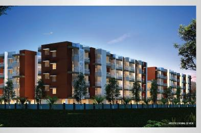 1125 sqft, 2 bhk Apartment in VR Shobha Meadows Hoskote, Bangalore at Rs. 30.7825 Lacs