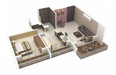 584 sqft, 1 bhk BuilderFloor in Nisargraj Laxmi residency Neral, Mumbai at Rs. 21.4400 Lacs