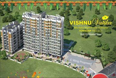 545 sqft, 1 bhk BuilderFloor in Vishnu Vatika Wing A And B Phase I Badlapur West, Mumbai at Rs. 23.0000 Lacs