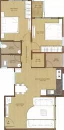 1235 sqft, 2 bhk Apartment in Kush Crystal Heights Adajan, Surat at Rs. 10500