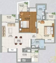 940 sqft, 2 bhk Apartment in Sikka Karnam Greens Sector 143B, Noida at Rs. 40.0000 Lacs