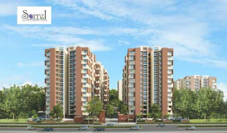 1590 sqft, 3 bhk Apartment in Applewoods Sorrel Bopal, Ahmedabad at Rs. 54.0600 Lacs