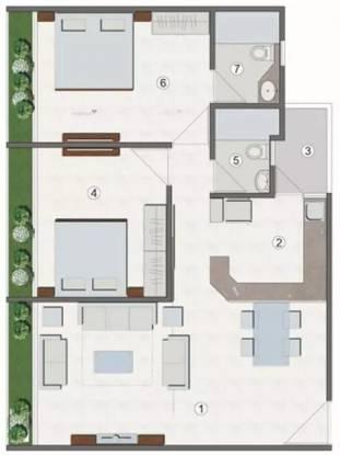 1195 sqft, 2 bhk Apartment in Elegance Earth Aroma Santej, Ahmedabad at Rs. 60.0000 Lacs