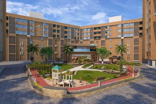 970 sqft, 2 bhk Apartment in Yash Arian Memnagar, Ahmedabad at Rs. 58.2500 Lacs