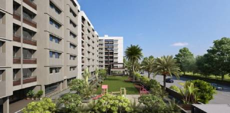 1435 sqft, 3 bhk Apartment in Builder 3 BHK Apartment With Garden SP Ring Road, Ahmedabad at Rs. 14000