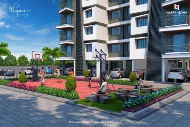 1209 sqft, 2 bhk Apartment in Builder happy elegance Vesu, Surat at Rs. 52.0000 Lacs