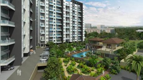 1219 sqft, 2 bhk Apartment in Pethkar Samrajya Kothrud, Pune at Rs. 24000