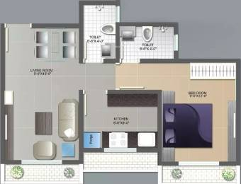 555 sqft, 1 bhk Apartment in Mohak City Virar, Mumbai at Rs. 25.0000 Lacs