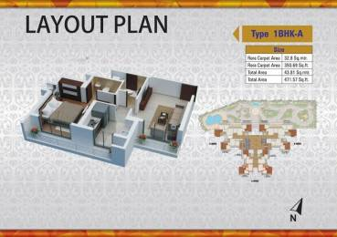 473 sqft, 1 bhk Apartment in Builder Project Thane West, Mumbai at Rs. 34.0000 Lacs