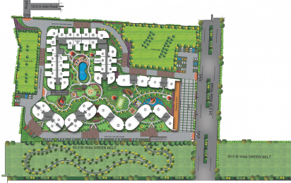1262 sqft, 2 bhk Apartment in Rise Organic Homes Lal Kuan, Ghaziabad at Rs. 31.5800 Lacs