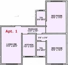 1126 sqft, 2 bhk Apartment in Rizvi Silver Springs Bandra West, Mumbai at Rs. 4.0000 Cr