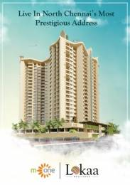1276 sqft, 2 bhk Apartment in Lokaa M One Kolathur, Chennai at Rs. 75.6268 Lacs