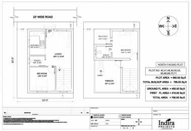 765 sqft, 2 bhk Villa in Indira Detroit City Oragadam, Chennai at Rs. 23.6560 Lacs