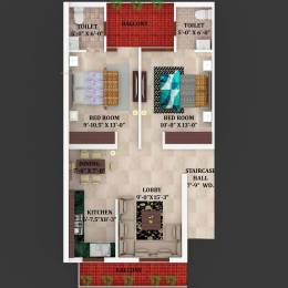 1000 sqft, 2 bhk Apartment in Builder Project Kurali Kharar Road, Mohali at Rs. 17.9000 Lacs
