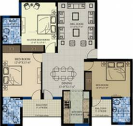 1674 sqft, 3 bhk Apartment in Divine Divine Heights Sector 115 Mohali, Mohali at Rs. 29.9000 Lacs