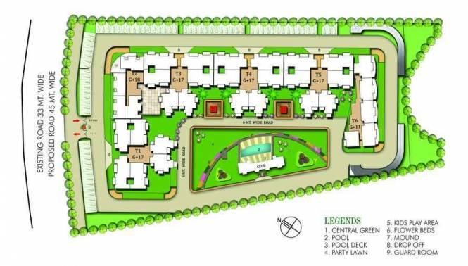 1250 sqft, 2 bhk Apartment in MCC Developers MCC Signature Heights Raj Nagar Extension, Ghaziabad at Rs. 33.7500 Lacs