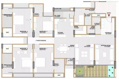 3382 sqft, 4 bhk Apartment in Shri Gautam Real Estate pvt ltd Apollo DB City Vijay Nagar, Indore at Rs. 1.0000 Cr