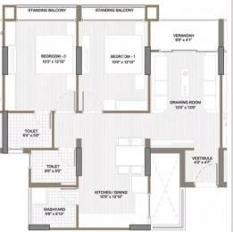 1125 sqft, 2 bhk Apartment in Shri Gautam Real Estate pvt ltd Apollo DB City Vijay Nagar, Indore at Rs. 32.1000 Lacs