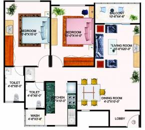 1200 sqft, 2 bhk Apartment in Builder Project Pipliyahana, Indore at Rs. 20.7000 Lacs