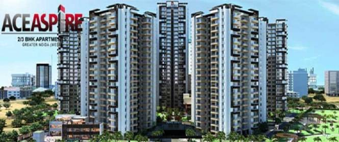 1125 sqft, 2 bhk Apartment in Ace Aspire Techzone 4, Greater Noida at Rs. 39.3750 Lacs