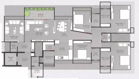 3700 sqft, 4 bhk Apartment in Popular Domain Satellite, Ahmedabad at Rs. 2.1000 Cr