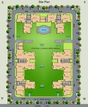 2250 sqft, 4 bhk Apartment in Hanumant Bollywood Heights Sector 20, Panchkula at Rs. 69.0000 Lacs