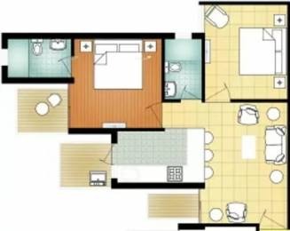 800 sqft, 2 bhk Apartment in MVN Athens Sector 5 Sohna, Gurgaon at Rs. 16.8466 Lacs