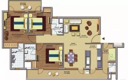 1743 sqft, 3 bhk Apartment in CHD Avenue 71 Sector 71, Gurgaon at Rs. 1.0500 Cr