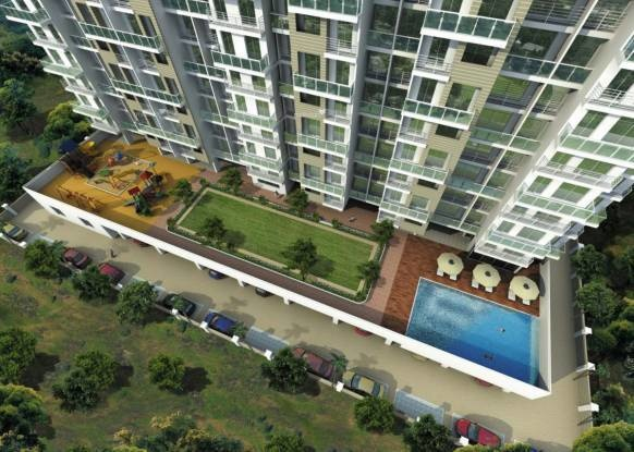 1090 sqft, 2 bhk Apartment in GHP Sonnet Kharghar, Mumbai at Rs. 18000