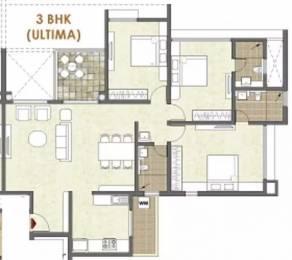 1690 sqft, 3 bhk Apartment in Pride Platinum Baner, Pune at Rs. 25000