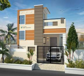 1320 sqft, 2 bhk IndependentHouse in Builder KRK IH 45L Nemilichery Thiruninravur, Chennai at Rs. 45.0000 Lacs
