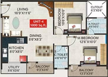 1000 sqft, 2 bhk Apartment in Shivaganga Smaran Kumaraswamy Layout, Bangalore at Rs. 30.0000 Lacs