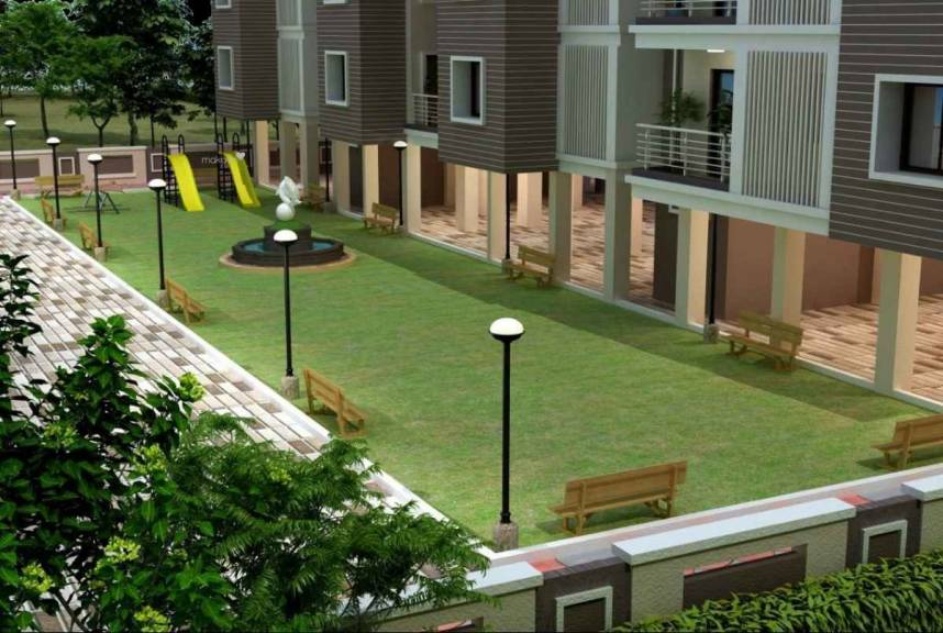 66cd79209600 1100 sq ft 2 BHK 2T East facing Apartment for sale at Rs 37.00 lacs in  Earth Palm 2th floor in Manewada