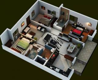 1650 sqft, 3 bhk Apartment in Fortuna Center Park Kodigehalli, Bangalore at Rs. 31000