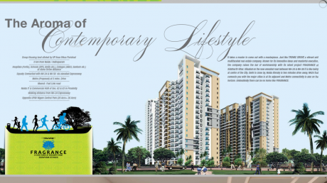 1480 sqft, 3 bhk Apartment in Builder Truvae fragrance Siddharth Vihar Indirapuram, Ghaziabad at Rs. 60.0000 Lacs