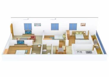 1325 sqft, 3 bhk Apartment in Bhoomatha Sai Durga Enclave Pothinamallayya Palem, Visakhapatnam at Rs. 47.7000 Lacs