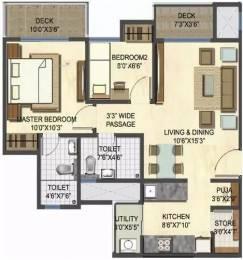 864 sqft, 2 bhk Apartment in Lodha Casa Rio Gold Dombivali, Mumbai at Rs. 9000