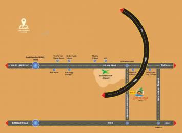 1440 sqft, Plot in Builder Project Gannavaram, Vijayawada at Rs. 10.4000 Lacs