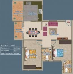 1150 sqft, 2 bhk Apartment in VSK Aayushman TVS Nagar, Coimbatore at Rs. 56.2200 Lacs