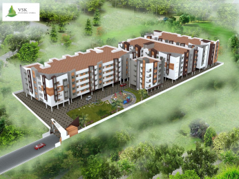 1322 sqft, 2 bhk Apartment in VSK Aishwaryam Saravanampatti, Coimbatore at Rs. 56.7724 Lacs